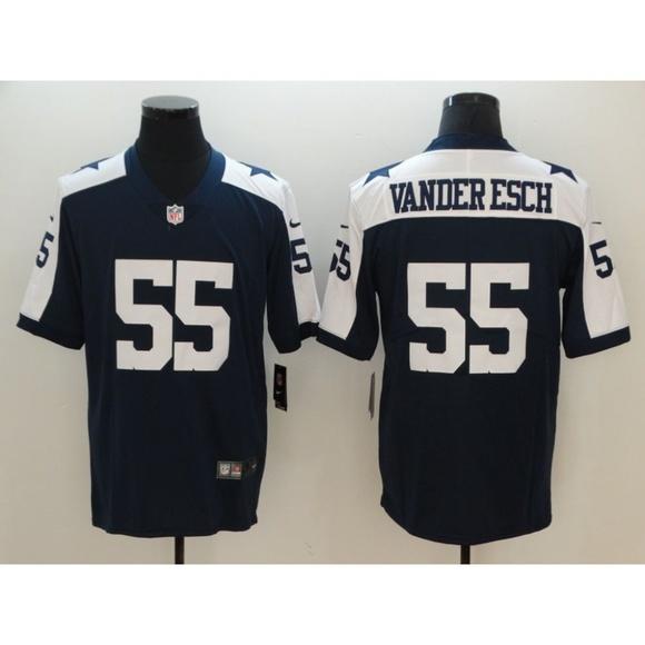 online store be386 17fd4 Dallas Cowboys Leighton Vander Esch Jersey